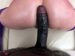 Riley Reid takes a massive black cock balls deep in her cunt