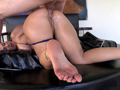 Madison Rose gets a nice hard anal fucking
