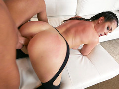 Brittany Shae takes long, hard throbber doggy style