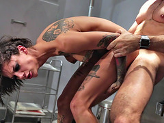 Bonnie Rotten getting roughly fucked doggystyle