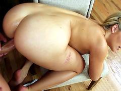 Mia Malkova takes that cock doggy style