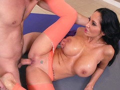 Fuckilicious mom Ava Addams having sex in the yoga class