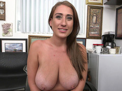 Brand new slut Skyler Luv has a pair of giant natural tits