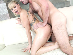 Zoey Monroe gets intense doggystyle anal banging