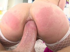 Penny Pax gets her juicy asshole relentlessly sodomized in POV