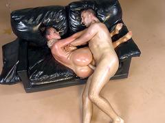 Big booty MILF Nikki Benz takes a legendary anal pounding