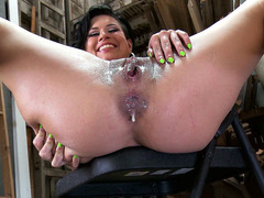 Eva Angelina anal creampied after ass fucking