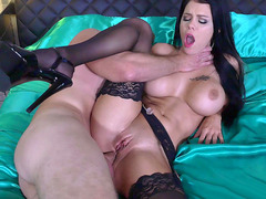 Peta Jensen anal fucked for the first time, fulfilling her darkest desire