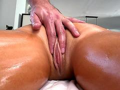 Tasha Reign ordered him to massage her juicy vagina