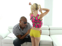 Slutty teen Piper Perri craving his big black cock