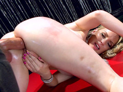 Courtney Cummz slides his enormous rod deep in her ass inch by inch
