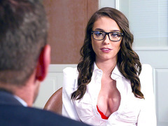 Ashley Anderson gets her nice big boobs worshipped