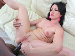 Jennifer White cranks her legs back as Lex porks her butt hole